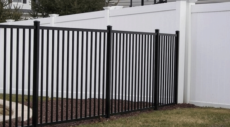 People who want the look and feel of wrought iron fences should get an ornamental fence. Ornamental fences, whether made of steel or aluminum, look great and provide lots of security and beauty to a property.